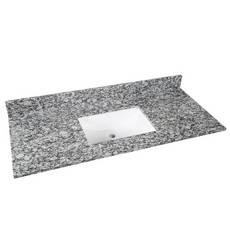 Kendall Gray Granite 49 in. Vanity Top