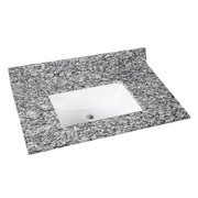 Kendall Gray Granite 31 in. Vanity Top