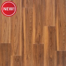 New! Henna Walnut Rigid Core Luxury Vinyl Plank - Foam Back
