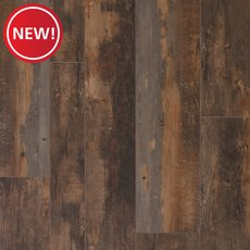 New! Old Barn Oak Rigid Core Luxury Vinyl Plank - Cork Back