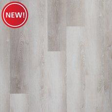 New! White Oak Rigid Core Luxury Vinyl Plank - Foam Back