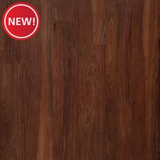 New! Cherry Walnut Rigid Core Luxury Vinyl Plank - Foam Back
