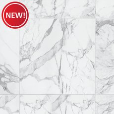 New! Avenza Bianco Polished Porcelain Tile