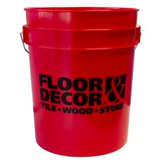 Floor and Decor Logo Red Bucket