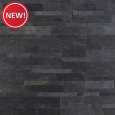 New! Monsoon Black Slate Peel and Stick Ledger Panel
