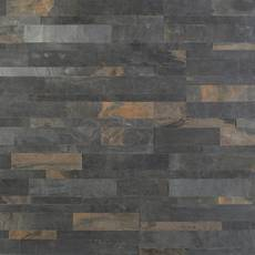 Forest Multi Color Slate Peel and Stick Ledger Panel