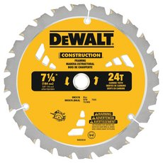 DeWalt 7 1/4in. 24T Thin Kerf Framing Saw Blade