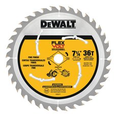 DeWalt 7 1/4in. 36T Flexvolt Circular Saw Blade