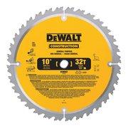 DeWalt 10in. 32T Large Diameter Jobsite Saw Blade
