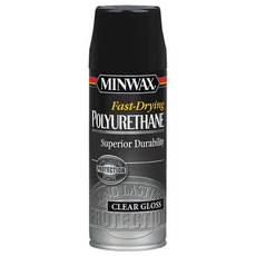 Minwax Fast-Drying Polyurethane Clear Gloss Spray
