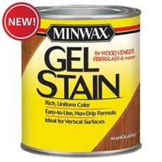 New! Minwax Mahogany 605 Gel Stain