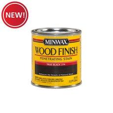 New! Minwax True Black 274 Wood Finish Stain