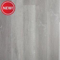 New! Soft Grey Oak Rigid Core Luxury Vinyl Plank - Cork Back