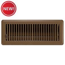 New! Brown Floor Register