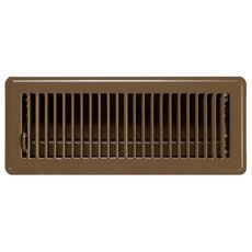 Brown Floor Register