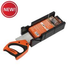 New! Jorgensen Miter Box with Back Saw