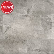 New! Chateaux Gris Matte Porcelain Tile