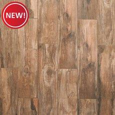 New! Westford Brown II Wood Plank Porcelain Tile