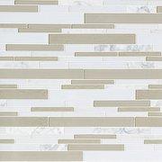 Paros Summer Stone II Glass Linear Mosaic