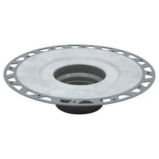 Kerdi-Drain Flange PVC 2in. With Seals and Corners