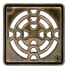 Schluter Kerdi-Drain 4in. Grate Oil Rubbed Bronze