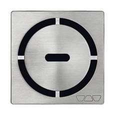 Schluter Kerdi-Drain 4in. Grate Stainless Steel Pure