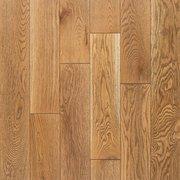 Cadiz White Oak Wire-Brushed Solid Hardwood