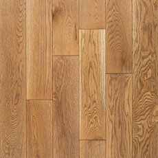 Cadiz White Oak Wire-Brushed Solid Hardwood