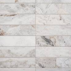 Bianco Orion Loft Polished Marble Mosaic