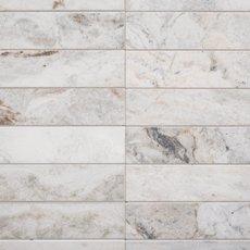Bianco Orion Loft Polished Marble Mosaic