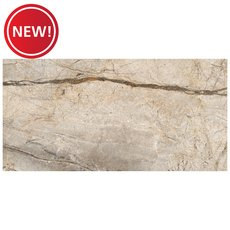 New! Bellmeade Greige Polished Porcelain Tile