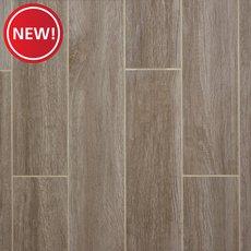 New! Wynnwood Gray Wood Plank Porcelain Tile