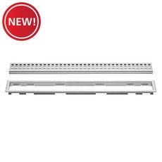 New! Schluter-Kerdi-Line 3/4in. Frame 40in. Perforated Grate