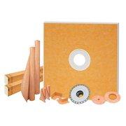 Schluter Kerdi-Shower Kit 72in. x 72in. PVC Flange 2
