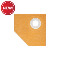 New! Schluter Kerdi-Shower Tray Thin 38in. x 38in. Angle