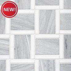 New! Athena Labyrinth Polished Marble Mosaic