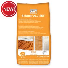 New! Schluter All-Set White Modified Thin-Set Mortar