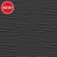 New! Onda Black Matte Ceramic Tile