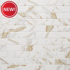 New! Calacatta Oro Ceramic Tile