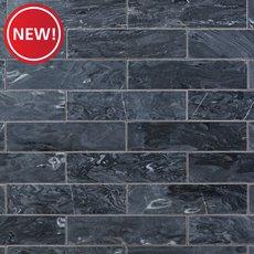 New! Caviar Black Polished Marble Tile