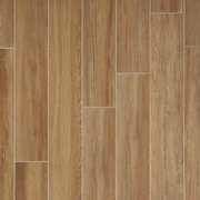 Santiago Ambar Wood Plank Ceramic Tile