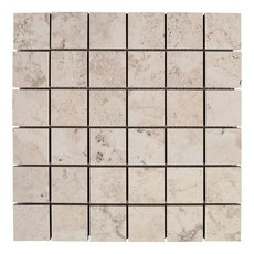 Tarsus Almond II Polished Porcelain Mosaic