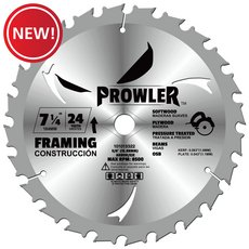 New! Prowler 7 1/4in. Wood Blade