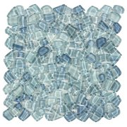 Crystal Cove Glass Pebble Mosaic