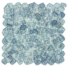 Crystal Cove Glass Pebble Mosaic