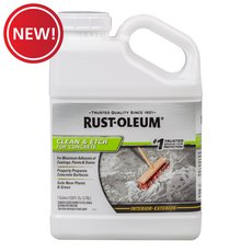 New! Rust-Oleum Clean and Etch for Concrete