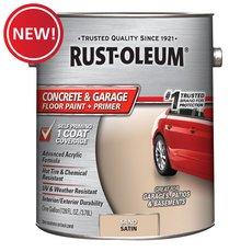 New! Rust-Oleum Concrete and Garage Sand Floor Paint Plus Primer