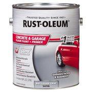 Rust-Oleum Concrete and Garage Battleship Gray Floor Paint Plus Primer