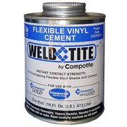 Compotite Weld Tite Flexible Vinyl Cement