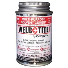 Compotite Weld Tite Multi-Purpose Solvent Cement
